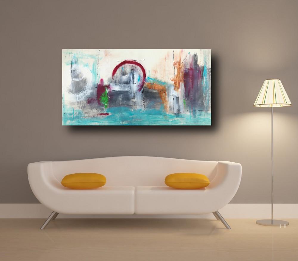 quadri moderni astratti soggiorno c247 - quadri moderni per salotto