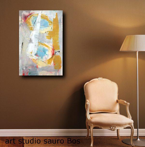 c274 olio su tela astratto 600x610 - dipinti moderni  geometrici su tela 80x60