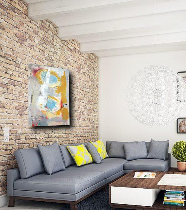 quadri astratti c274 600x677 - dipinti moderni  geometrici su tela 80x60