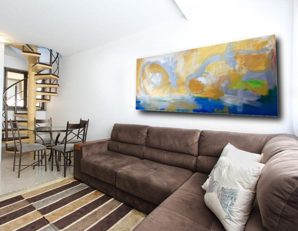 quadri astratti paesaggio c254 1024x795 - dipinto su tela per casa moderna 120x80