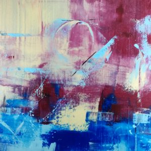quadri astratti su tela c273 300x300 - quadro fatto a mano su tela con cornice argento 120x70
