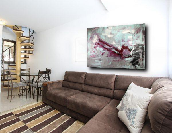 quadri astratti su tela grandi c270 600x466 - quadro moderno per soggiorno 170x130
