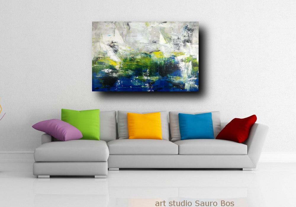 quadri asttratti su tela c261 - quadri moderni per arredamento