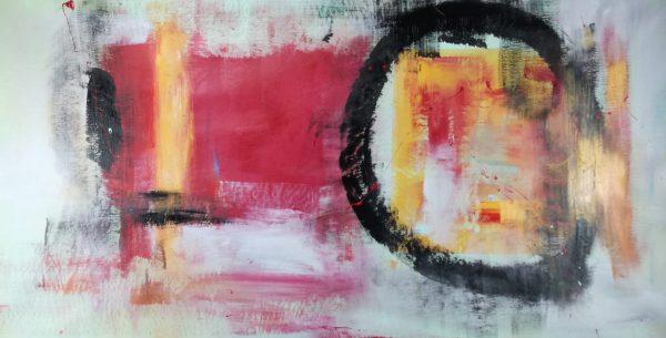 quadro astratto su tela c369 600x305 - dipinti moderni orizzontali per soggiorno 120x60