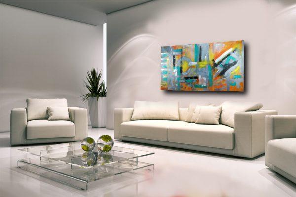 quadri astratti colorati c280 600x400 - quadri  astratti grandi dimensioni 180x90 moderni