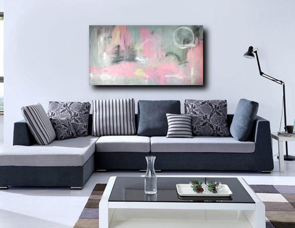Divano Rosso E Grigio quadri moderni da soggiorno | sauro bos