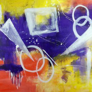 quadri astratti c294 300x300 - quadro grande astratto su tela 120x80 per arredamento contemporaneo