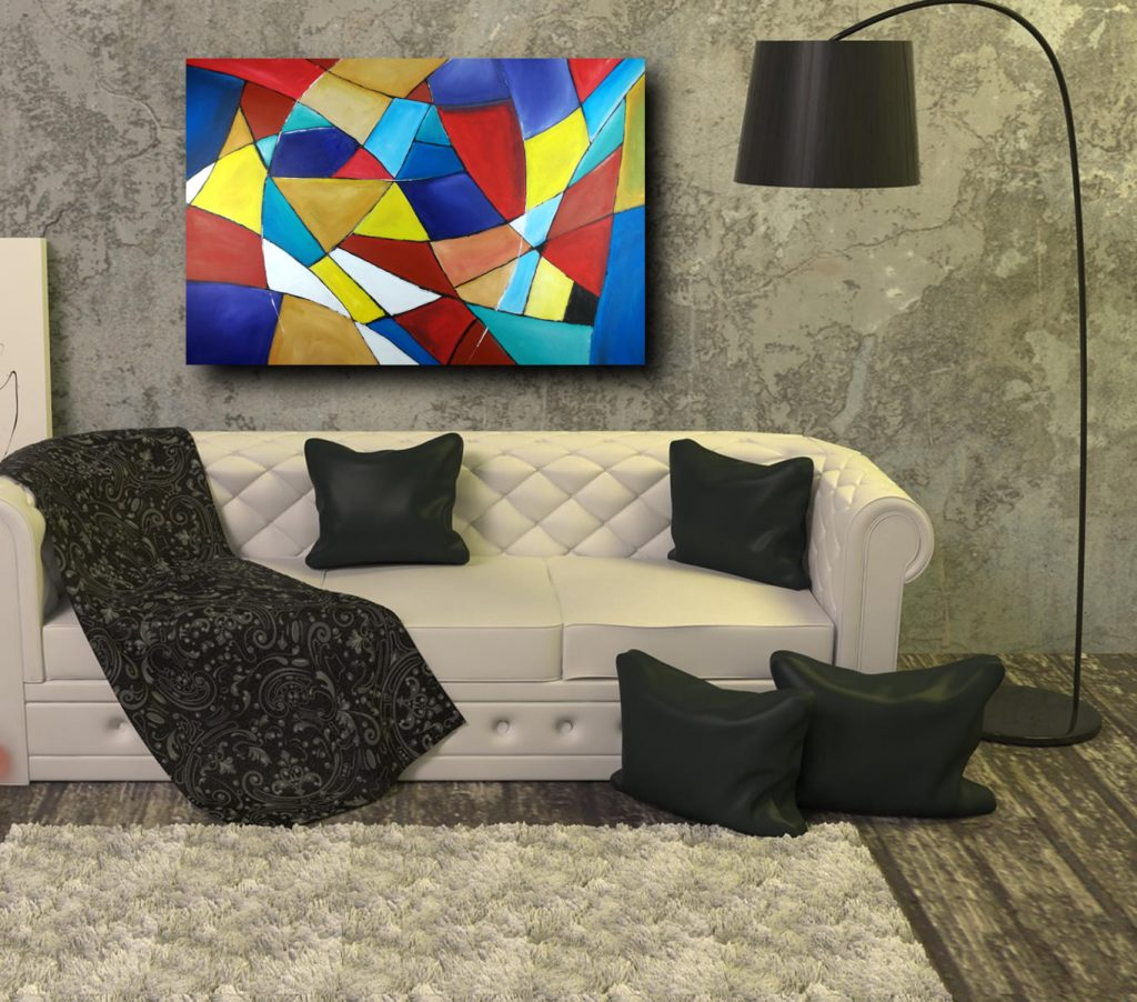 quadri astratti geometrici su tela 1024x902 - vendita quadri