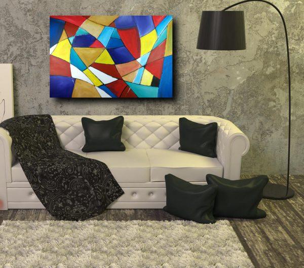 quadri astratti geometrici su tela 600x528 - quadro-astratto-geometrico-120x80
