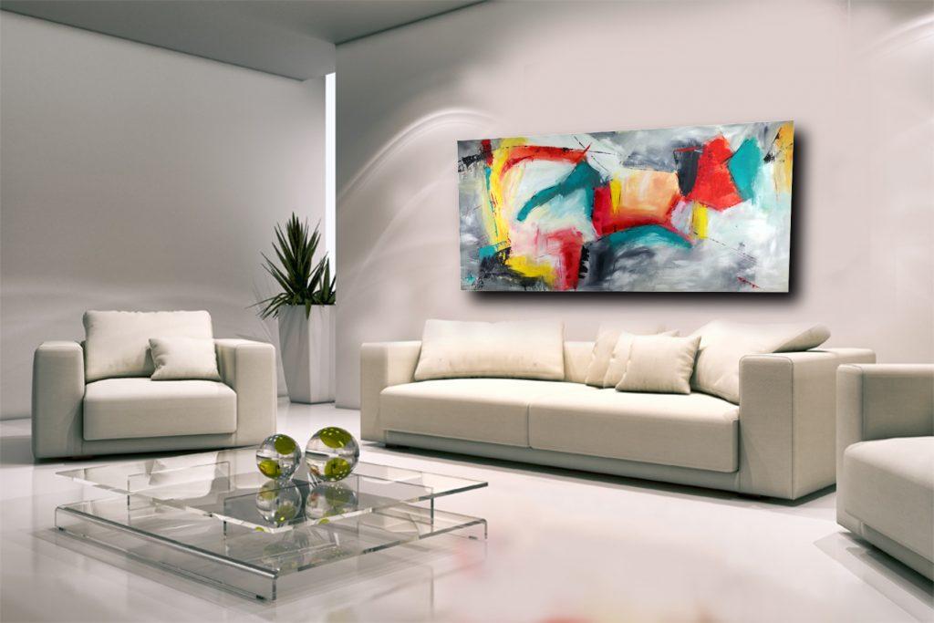 quadri moderni da soggiorno sauro bos