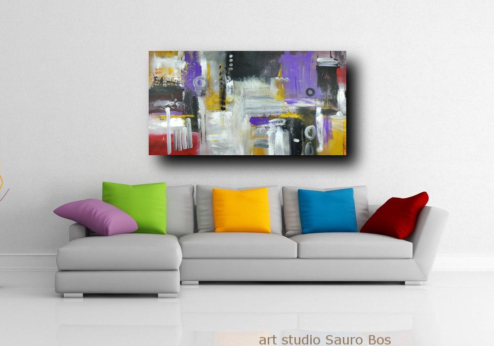 quadri moderni per arredamento soggiorno | sauro bos