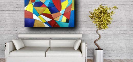 quadri astratti su tela geometric c301 520x245 - quadri moderni design