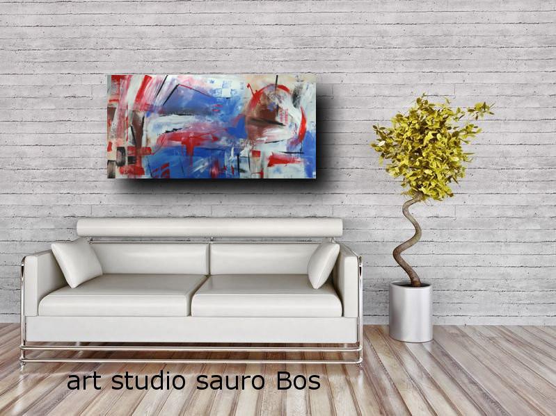 quadri per arerdare case moderne 120x60 sauro bos