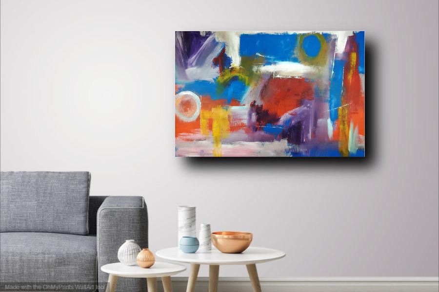 quadri dipinti a mano su tela c299 - quadri moderni da soggiorno