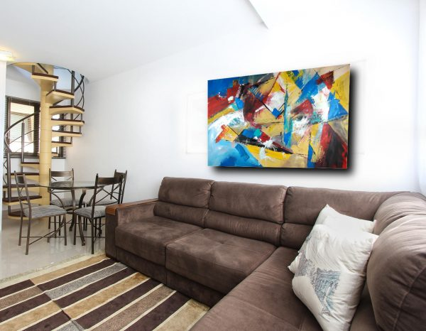 quadri per arredamento moderno c300 600x466 - dipinto grande su tela 120x80 per arredamento moderno astratto