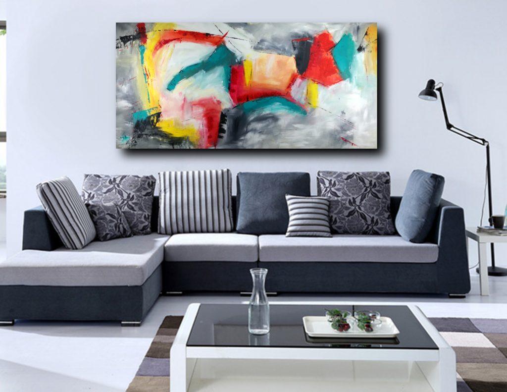 quadri moderni da soggiorno | sauro bos