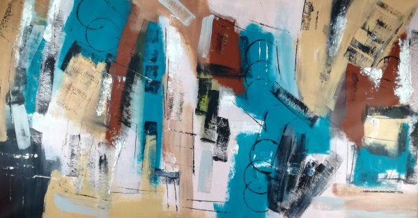 quadro astratto grandi misure c364 600x313 - quadri per salotto grandi dimensioni 180x90 astratto moderno