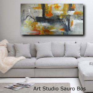 quadri astratti per soggiorno