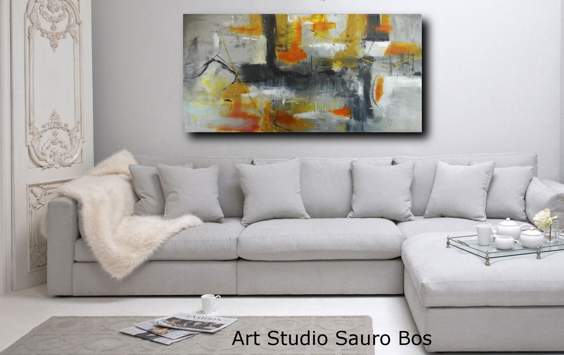 quadri per salotto grandi dimensioni 180x90 | sauro bos
