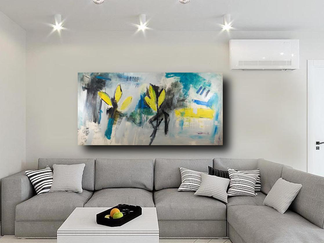 Quadri Grandi Per Salotto quadri per salotto grandi dimensioni 180x90 astratto