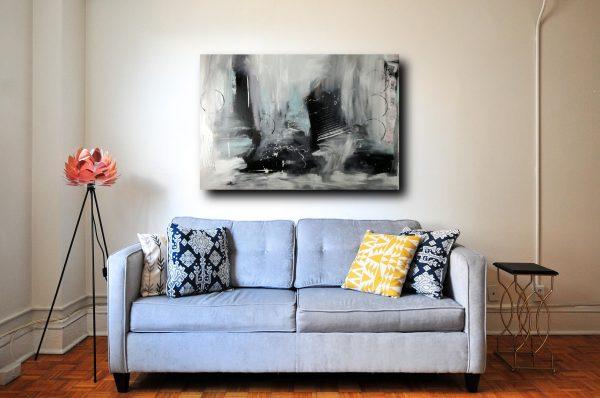 quadro astratto su tela-c338