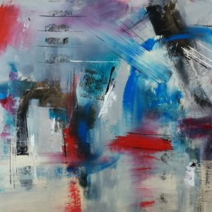 quadro moderno astratto su tela c319 300x300 - quadri per salotto grandi dimensioni 180x90 astratto moderno