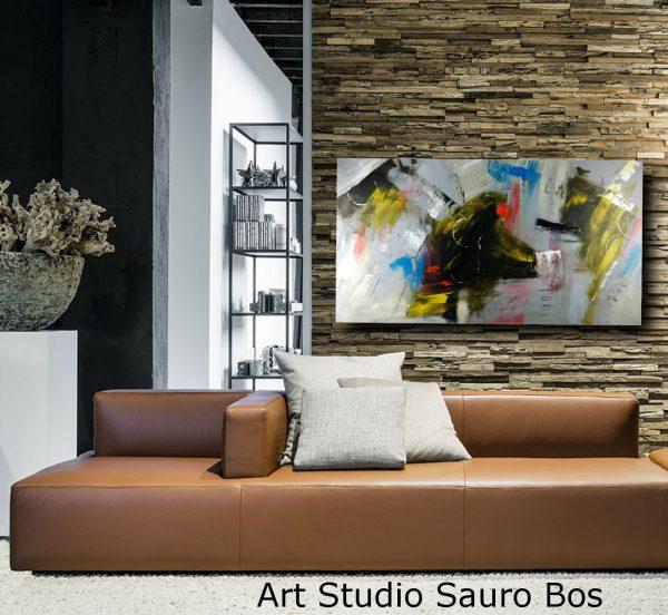 quadro per soggiorno moderno c324 600x552 - dipinti astratti grandi dimensioni su tela 150x80