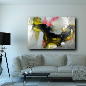 quadro su tela astratto c323 300x300 - painting on abstract canvas 120x80