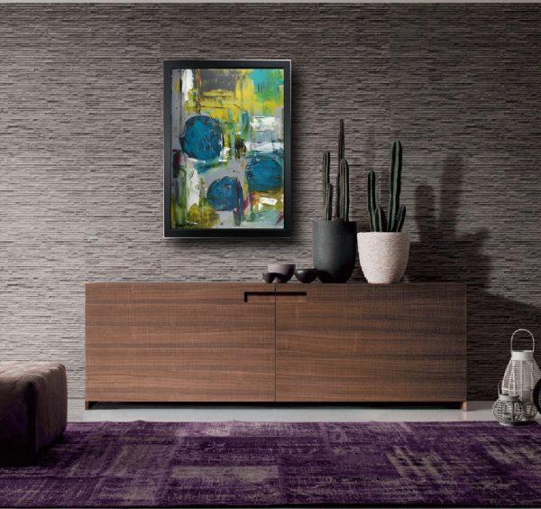 dipinto con cornice su tela zz002 600x564 - quadro su tela astratto 50x70 con cornice zz002