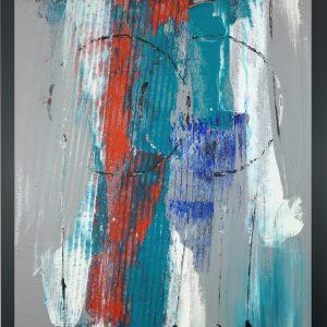 quadro astratto con cornice za009 300x300 - Quadri Astratti Verticale