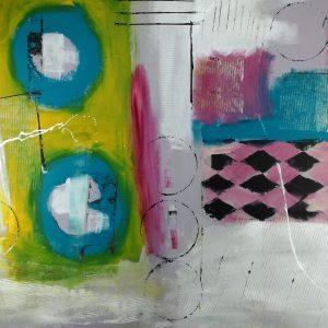 quadro astratto su tela moderno-c331