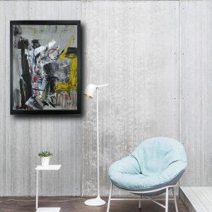 quadro cornice za005 300x300 - offerta quadro 30x40 con cornice