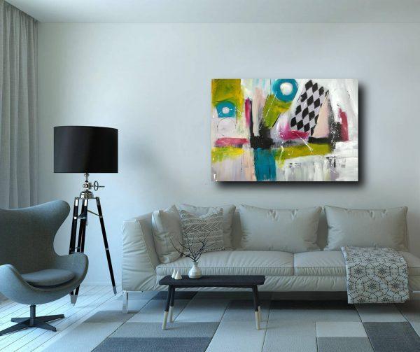 quadro per arredamento moderno c332 600x503 - quadro su tela  120x80 astratto