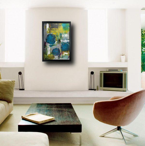 quadro su tela con cornice zz002 600x606 - quadro su tela astratto 50x70 con cornice zz002