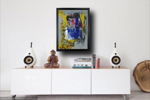 za001 madia 600x400 - dipinto su tela astratto 30x40 con cornice