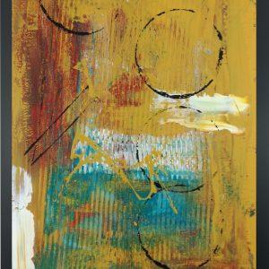 quadro astratto su tela con cornice za026 300x300 - Quadri Astratti Verticale