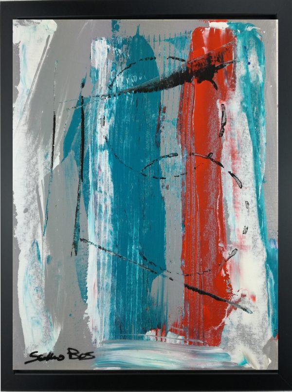 quadro con cornice za020 600x805 - quadro su tela astratto 30x40 con cornice za020