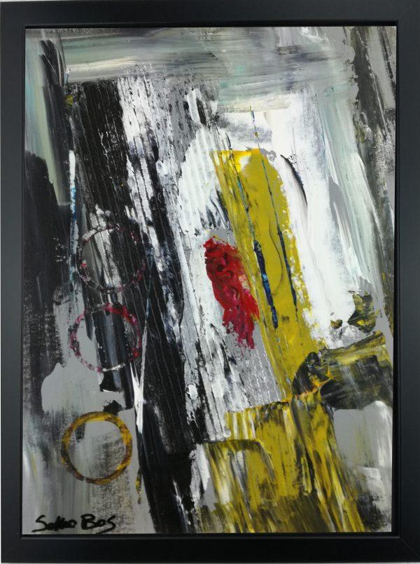 quadro dipinto a mano con cornice za027 600x805 - quadro su tela astratto 30x40 con cornice za027