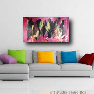 quadro moderno astratto c361 300x300 - dipinto astratto 120x70 per soggiorno con cornice oro