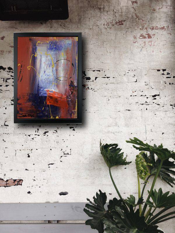 quadro-su-tela-con-cornice-nera-za029