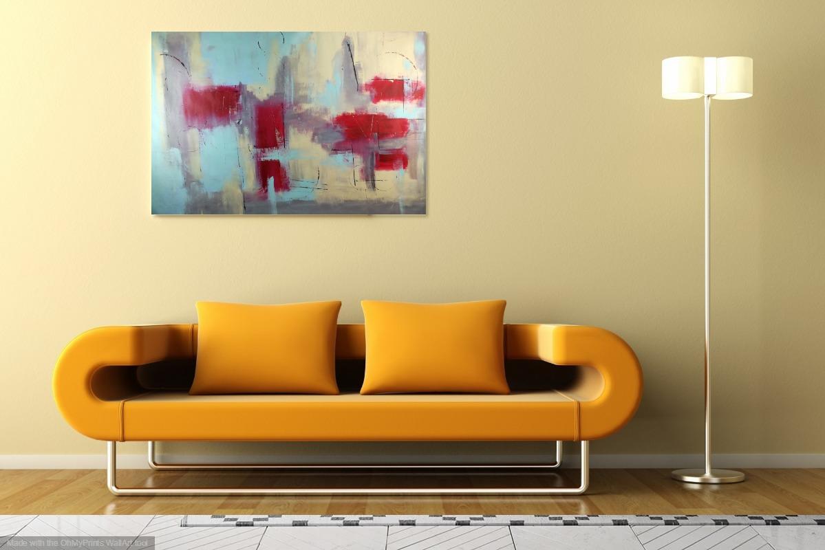 quadro astratto 150x100 per arredamento moderno