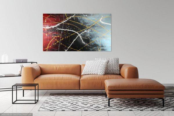 quadro astratto c352 600x400 - quadro astratto 150x80 per arredamento moderno