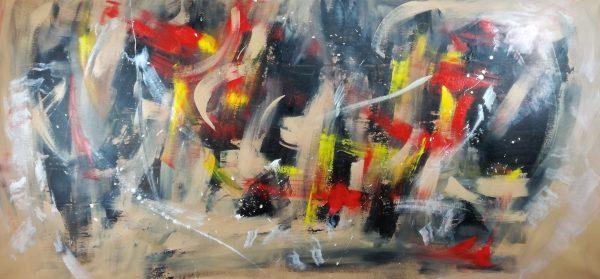 quadro astratto colorato c359 600x279 - dipinto a mano astratto 180x80 per arredamento