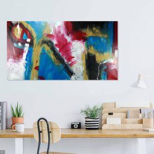 quadro astratto per soggiorno c351 300x300 - dipinto astratto 150x80 per casa modena