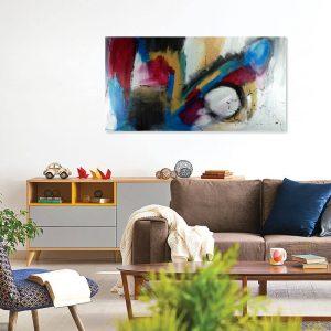 quadro moderno astratto su tela 300x300 - quadro astratto 150x80 per casa modena