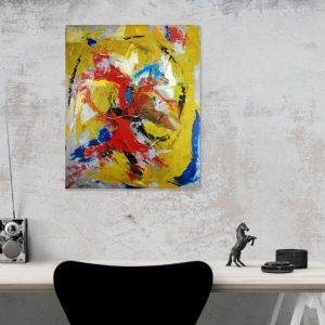 quadro su tela moderno colorato c346 300x300 - quadri su tela moderni
