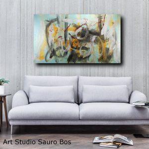 quadro astratto moderno c367 300x300 - dipinto a mano astratto contemporaneo 150x80