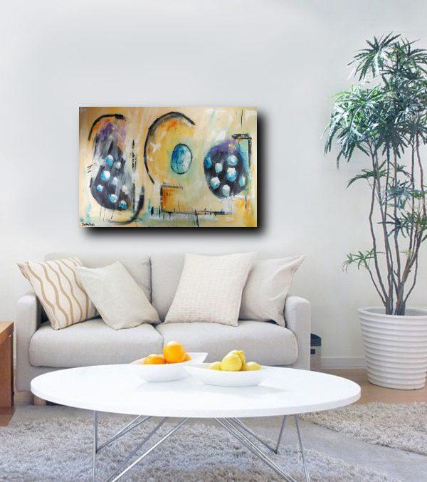 quadro moderno astratto c366 600x677 - dipinto su tela  120x80 moderno astratto