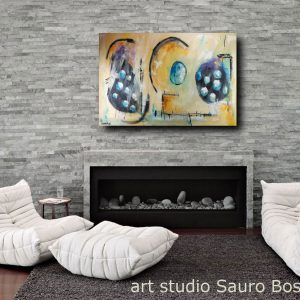 quadro su tela astratto c366 300x300 - dipinto su tela  120x80 moderno astratto
