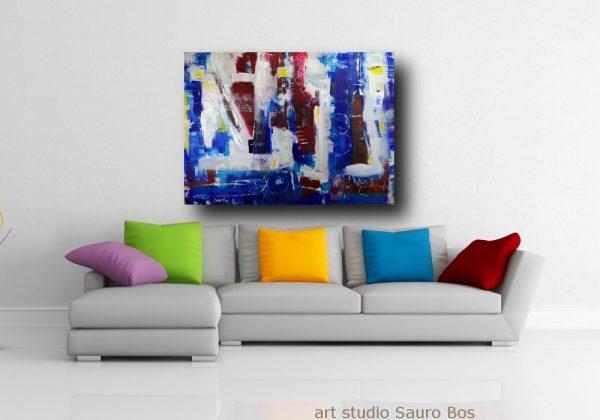 dipintpo astratto moderno blu c371 600x420 - dipinto a mano astratto contemporaneo 140x100